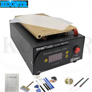 Lcd-Separator Machine-Screen-Repair-Machine Vacuum-Kit Gift UYUE iPhone 948S Samsung