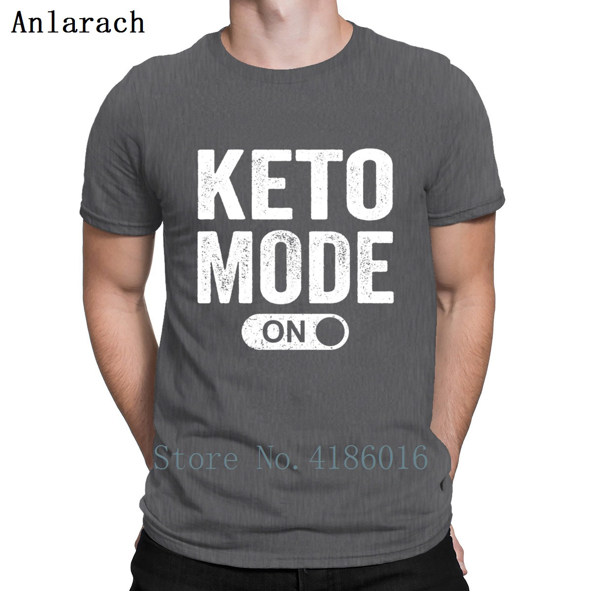 Keto Mode On T Shirt Latest Personality Fit Great Tshirt Men Summer Style Leisure Cotton Pop Top Tee