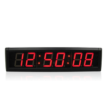 Big digital escape room countdown timer clock customizable LED for roombreak