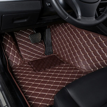 kalaisike 1 Pcs Custom car floor mats for Honda All Models CRV XRV Odyssey Jazz City crosstour civic crider vezel fit Accord image