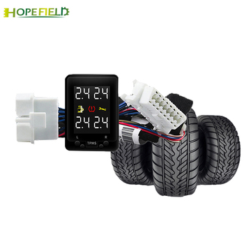 No Sensor OBD TPMS Digital Tire Pressure Monitor Safe Unit Tire Accessories For Toyota CH-R CHR Hybrid 2018 2019
