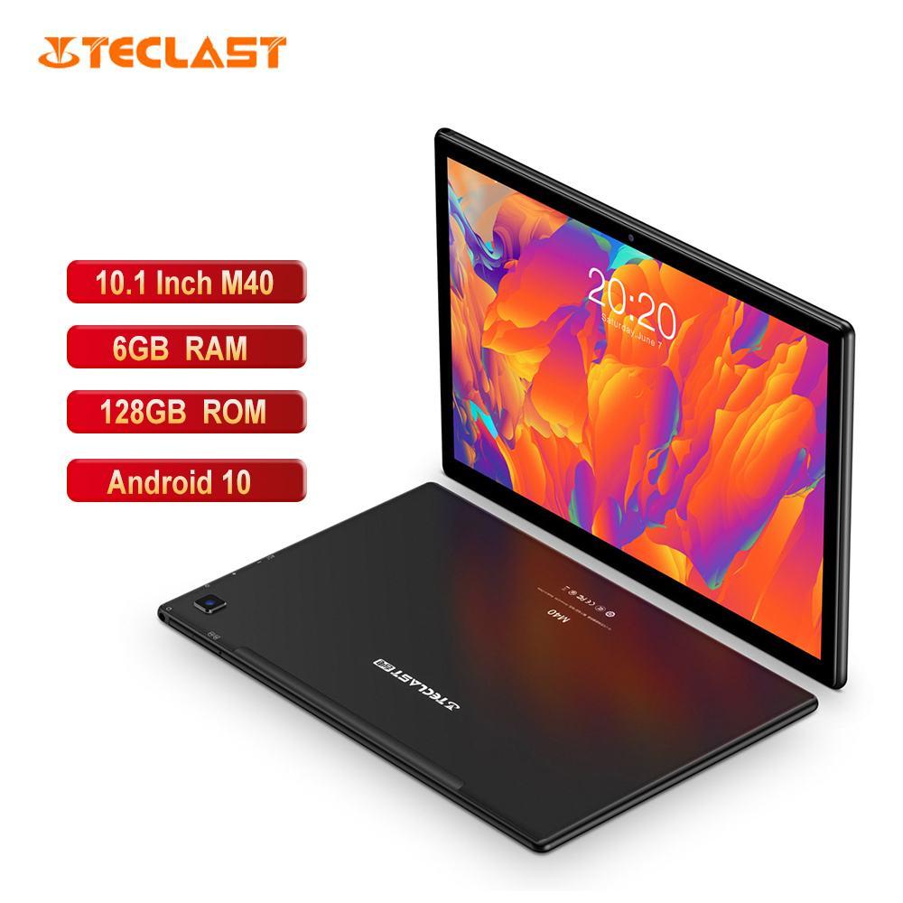 Teclast m40 10.1 Polegada completo hd tablet unisoc t618 octa núcleo 1920x1200 ips tela 4g lte 6gb ram 128gb rom android 10 tablet pc