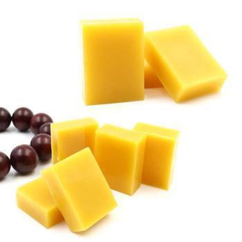 1 2 5 wosk pszczeli czysty naturalny meble drewniane polerowanie podłóg przyprawy wosk pszczeli polerowanie podłóg skórzane ochrony meble drewniane tanie i dobre opinie CN (pochodzenie) Other Yellow 1Pc Wax 1 Pc Wax