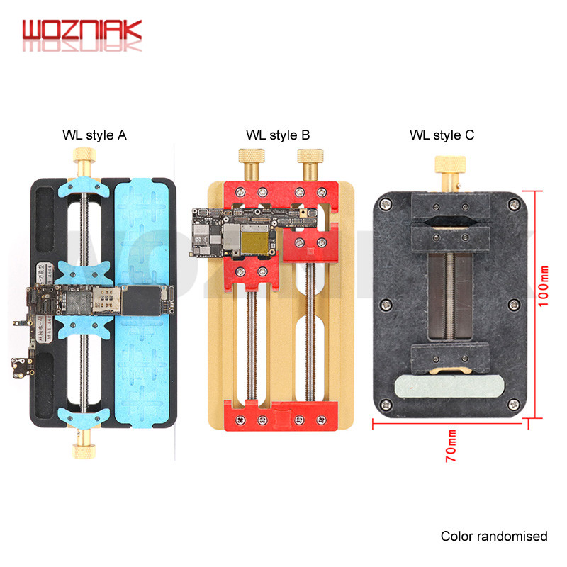 Wozniak Wl Universal Fixture High Temperature Phone IC Chip Motherboard Jig Board Maintenance Repair Mold Tool For Iphone