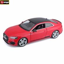 Bburago 1:24 Audi RS5 RAD simulation alloy car model crafts decoration collection toy tools gift стоимость