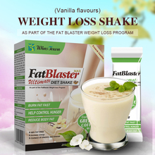 Vanilla Flavours Fat Blaster Diet Shake Milk Shake DETOX Flat Tummy Tea Fat Burner Slimming Product Weight Loss Perfect Body