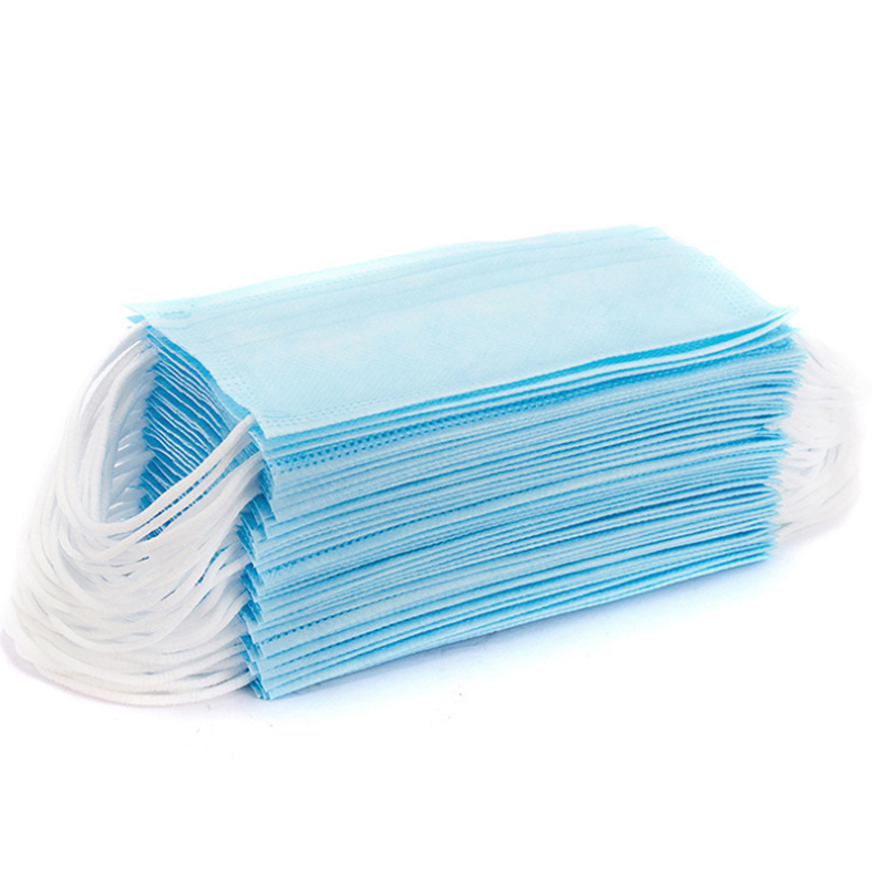 Image 4 - 10/90 Pcs Protective Face Masks Disposable 3 Layers Melt blown Fabric Breathable Mask Anti Protective Dust Proof MaskMasks   -