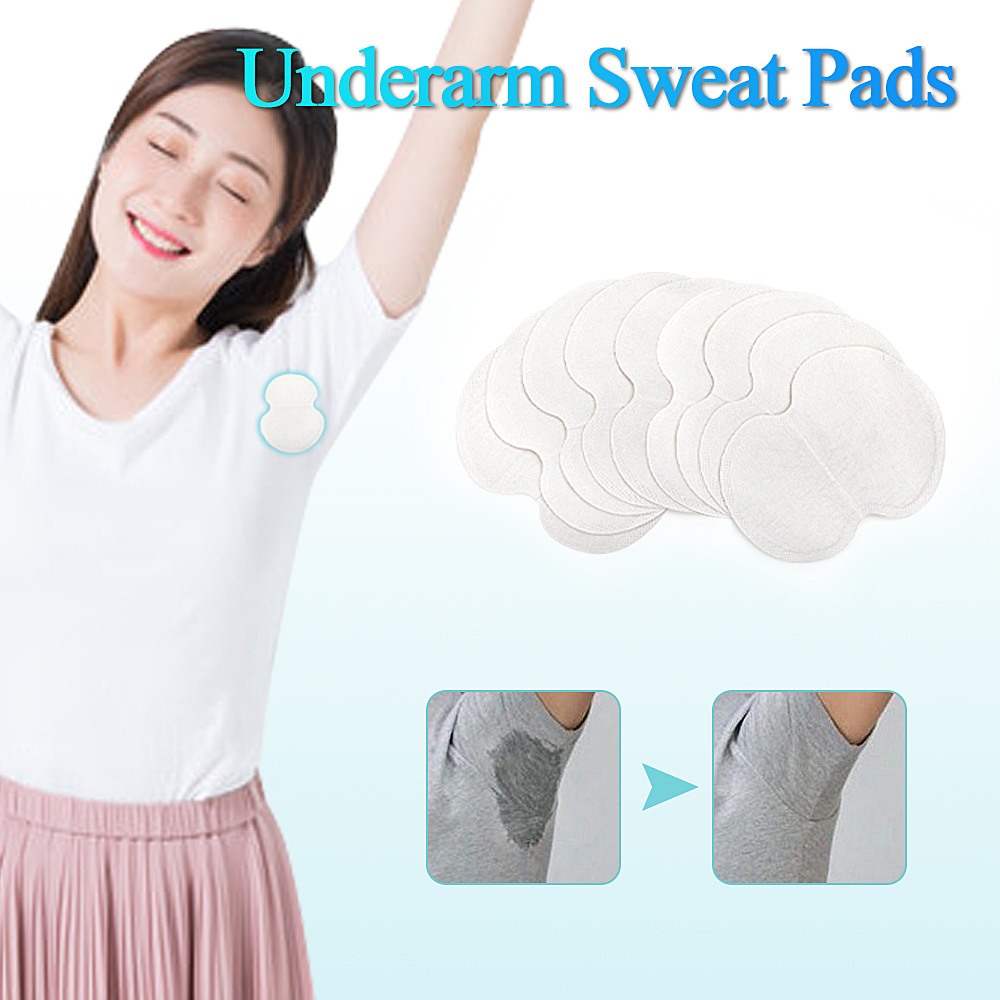 10/20/30/50pcs Underarm Dress Clothing Armpit Care Sweat Scent Perspiration Pad Shield Absorbing Deodorant Antiperspirant Pad