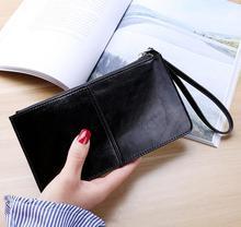 Nowy kobiety portfel na zamek błyskawiczny długa kopertówka wielu kieszeń na kartę portfel tanie tanio CN (pochodzenie) Klipsy do banknotów