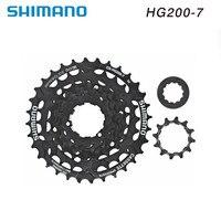 شيمانو HG200 7 HG41 7 7 سرعات متب كاسيت 12 32 T 11 28T|عجلة حرة للدراجات|الرياضة والترفيه -