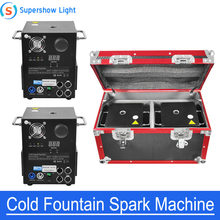 650W Cold Spark Wedding Flame Fountain DMX And Remote Control Sparkler Machine