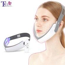 V образная светодиодсветильник ка для ухода за кожей лица