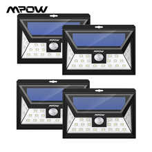 Mpow CD013 24 LED Solar Light Motion Sensor Wide Angle LED Lamp Garden Yard Wall Solar Powered Outdoor Light 3 Adjustable Models - DISCOUNT ITEM  36% OFF All Category
