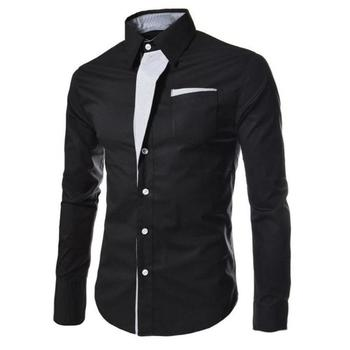 Fashion Men Tops Casual Shirts