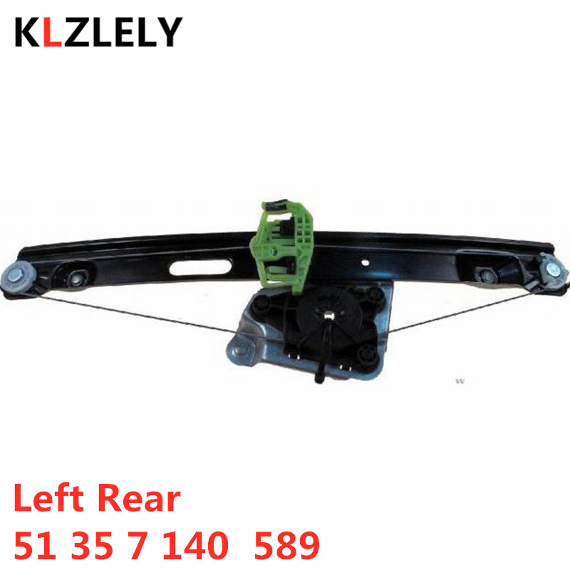 For BMW E90 E91 316 318 320 325 330 335 D I Xi 320 Xd  Left Rear Window Regulator 51 35 7 140 589