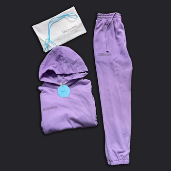 Mens Tracksuits Two Piece Loose Sweatshirt Sweatpant Sporting Long Track Pants Sweat 2 Piece Tracksuits Outfits Solid Color Sets 3