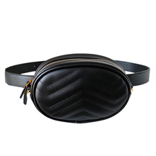 waist bag women Fashion Pillow  Solid Women Ladies Quilted Waist Bag Fanny Pack