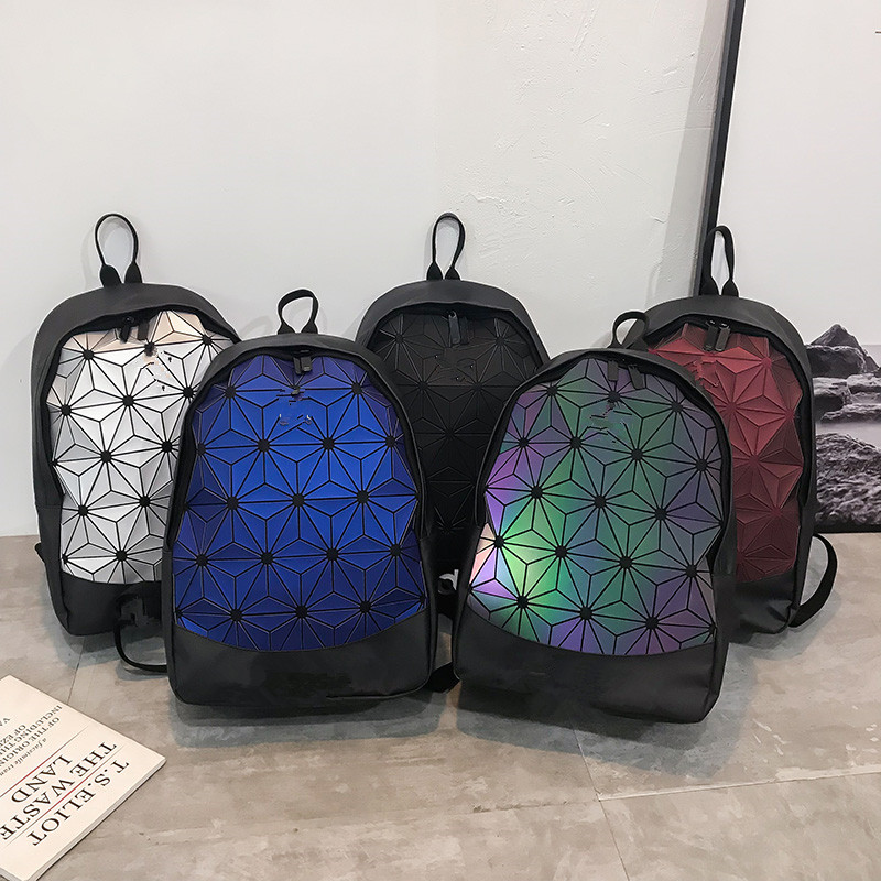 Women's Backpack Student Bag 2020 New Fashion Diamond Backpack Student Bag Travel Bag Computer Bag