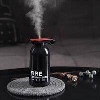 250 ml extintor de incêndio umidificador ar ultra aroma difusor óleo essencial para casa carro usb fogger névoa maker Umidificadores     -