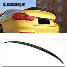 цена на Tail spoilers wing for f10 f11 BMW 5 series 520i 528i 530i 535i 550i rear spoiler M style wing 100% real carbon fiber 2010-2016