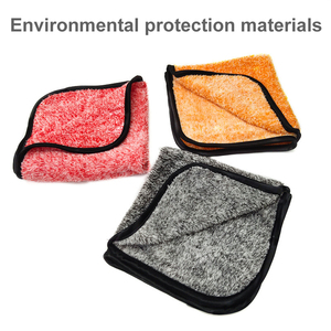 Image 2 - Auto Detaillering 35x35cm Auto Wassen Doek Microfiber Handdoek Car Cleaning Rag Voor Cars Dikke Microfiber Voor car Care Keuken