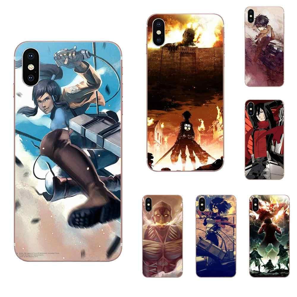 Японские комиксы tack On Titan чехол для Xiao mi 3 mi 4 mi 4C mi 4i mi 5 mi 5s 5X6 6X8 SE Pro Lite A1 Max mi x 2 Note 3 4