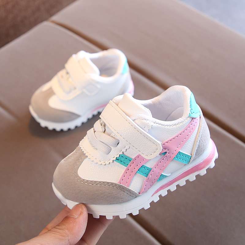 New Fashion Brand Cool Baby Infant Tennis High Quality Sports Running Baby Sneakers Cool Soft Baby Girls Boys Shoes Footwear