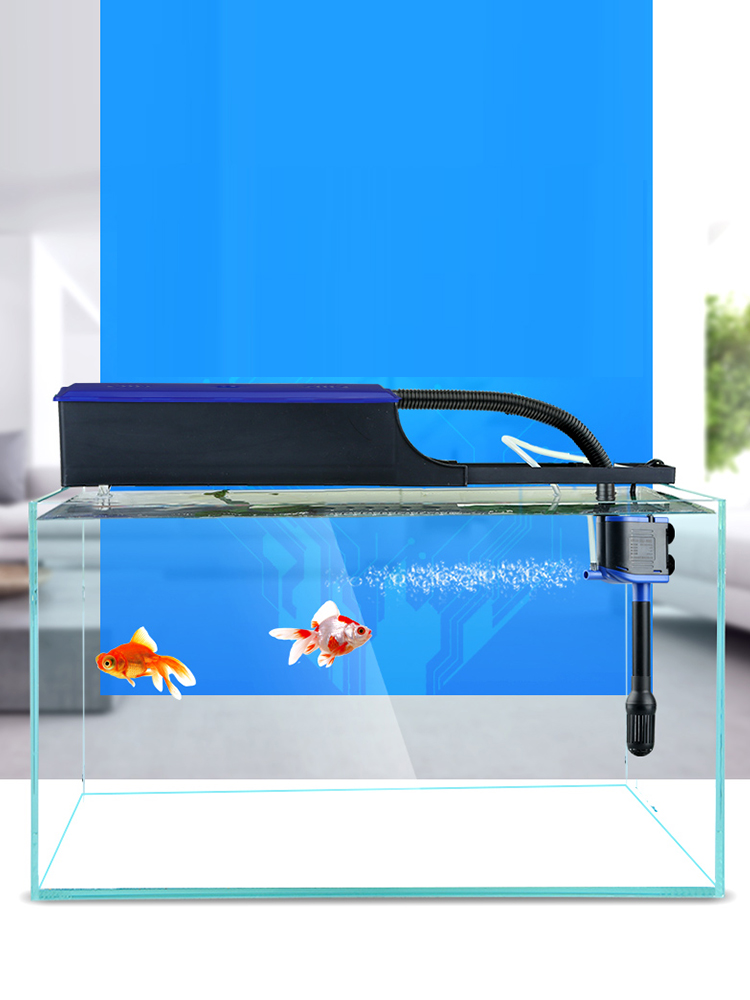 FILTER-PUMP AQUARIUM-FILTER Fish-Tank Tube-Pipe Air-Inlet Water-Outlet-Out Coral-Reef