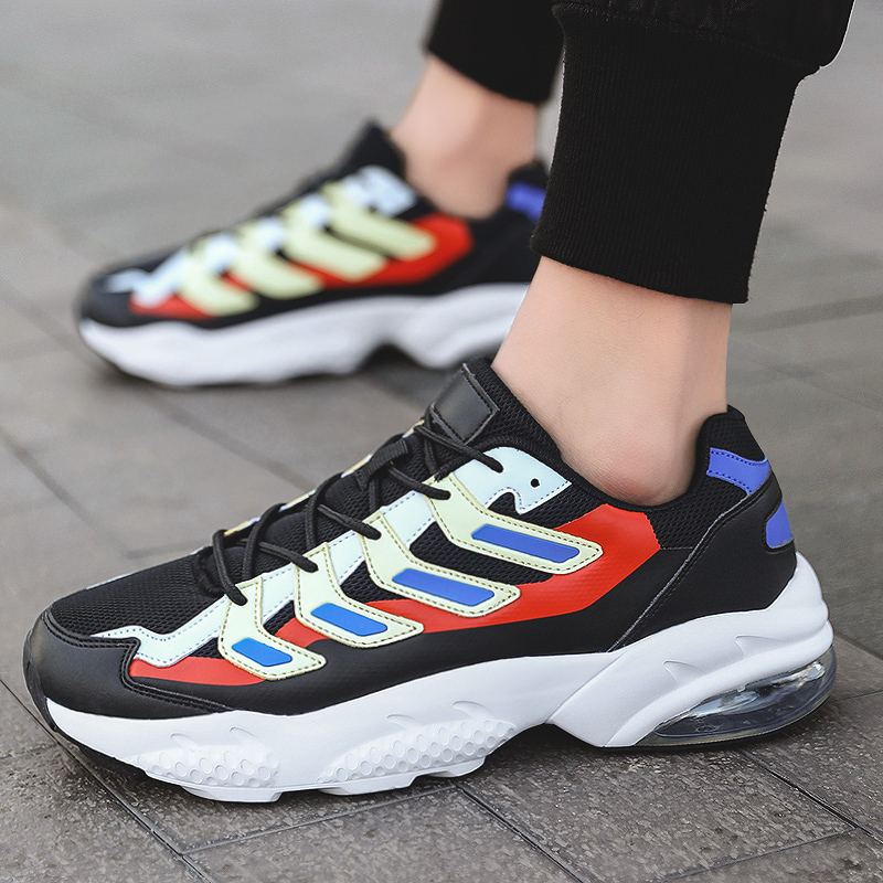 Fashion <font><b>Men</b></font> Casual <font><b>Shoes</b></font> 2020 brand retro increase sports <font><b>shoes</b></font> <font><b>men's</b></font> lightweight lace-up sneakers <font><b>men's</b></font> <font><b>shoes</b></font> large size image