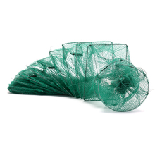 Lure-Nets Fish-Net Lobster Catcher Crab Eel-Prawn Live-Trap Foldable