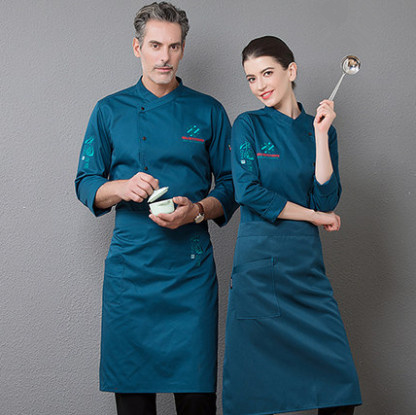 After The Fall And Winter Clothes Long-sleeved Western Restaurant Chef Pastry Chef Uniforms