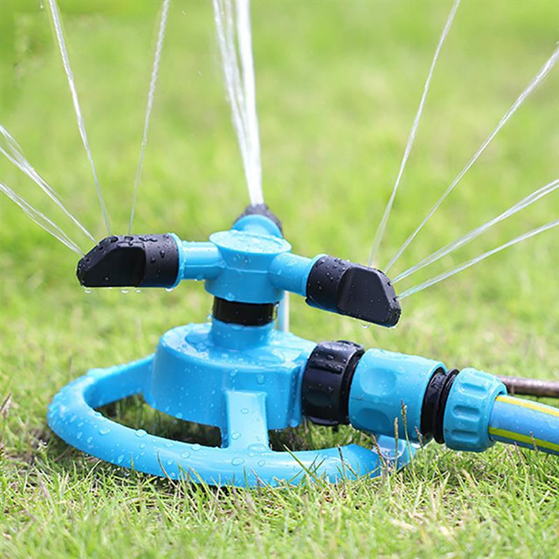 1pc Runde Garten Sprinkler Automatische Wasser Sprinkler 360 ° Rotierenden Rasen Sprinkler für Rasenflächen Bewässerung Gartenarbeit Lieferungen