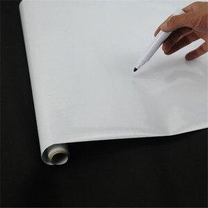 Съемная белая доска, белая доска, ПВХ наклейка, классная доска, наклейка на стену, детская краска, украшение дома 200*45 см