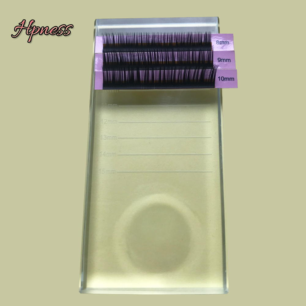 Image 3 - Glasses For Lashes False Eyelash Storage Box Transparent Glass Case Eyelash Cosmetic Makeup Storage Box Eyelashes Stand Tools-in Eyelashes Set from Beauty & Health