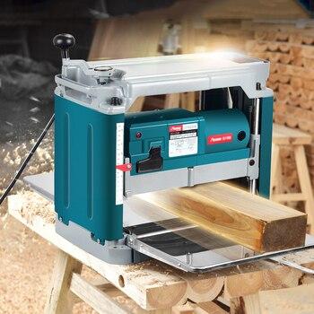 цена на Woodworking Multi-function Planer Power Tools Household Single-sided High-power Desktop Machinery Wood Planer 220V Free Shipping