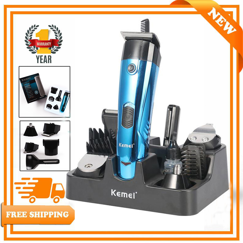 Kemei Hair Clippers Barber Profesional Electric Hair Cutter For Men's Beard Hair Cutting Machine Grooming Beard Trimmer Strong