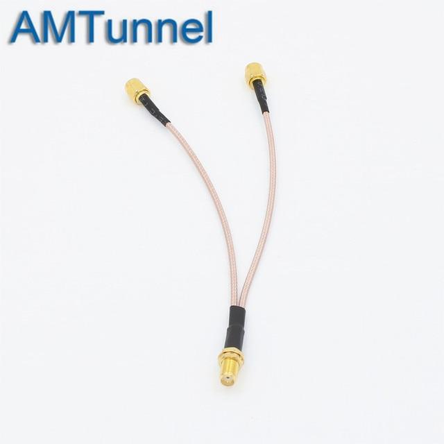 коаксиальный кабель amtunnel sma к crc9/ts9/sma/rp 12 см фотография