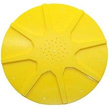 Легко-улей дно желтый анти-побега диск пластиковое оборудование для пчеловодства управление полетом улей пчела Инструменты 10 шт