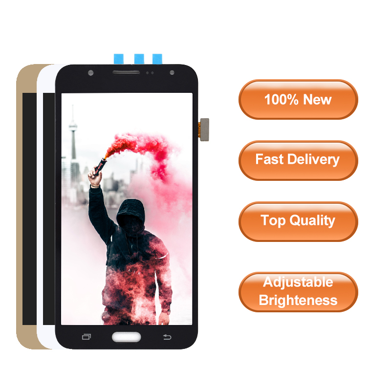 For Samsung Galaxy J7 2015 J700 SM J700F J700M J700H J700K J700T High Quality LCD Display with Touch Screen Digitizer Assembly|Mobile Phone LCD Screens| |  - title=