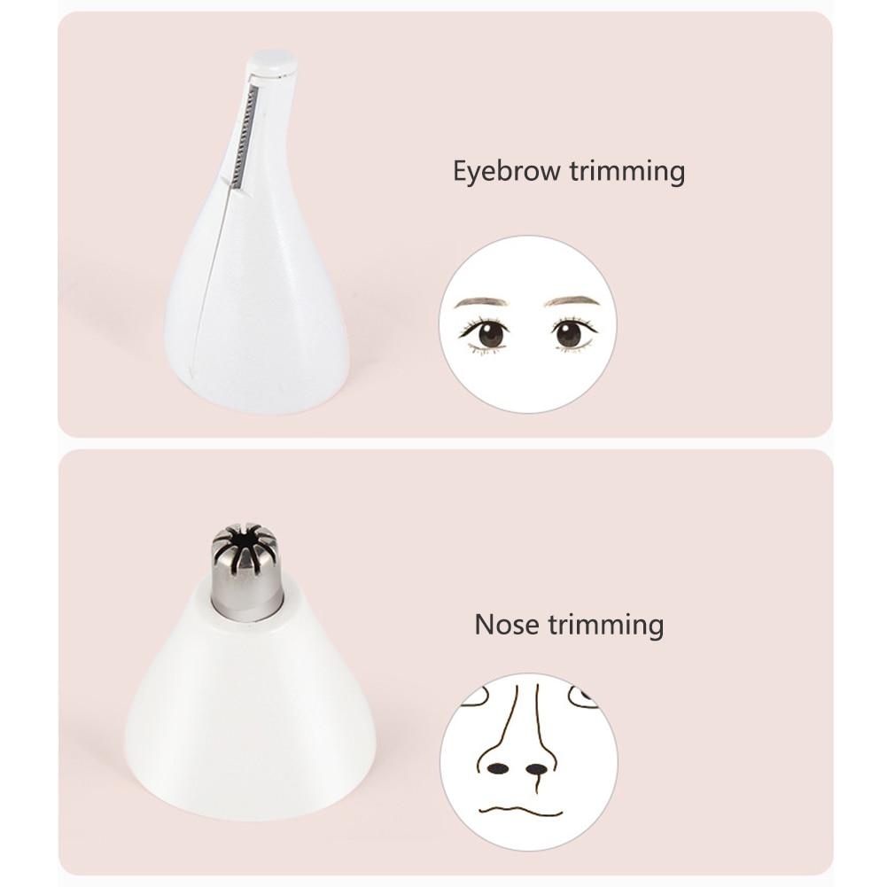 4 em 1 mulher depilador multi-funcional facial