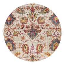Persian Style Living Room Round Carpets For Bedroom Moroccan Rugs And Carpets Coffee Table Area Rugs Home Office Chair Floor Mat(China)
