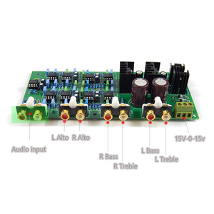 Image 3 - Crossover Electrical Frequency Divider Network Electronics Of Linkwitz Riley Amplifier 3 band Frequency Separation Board