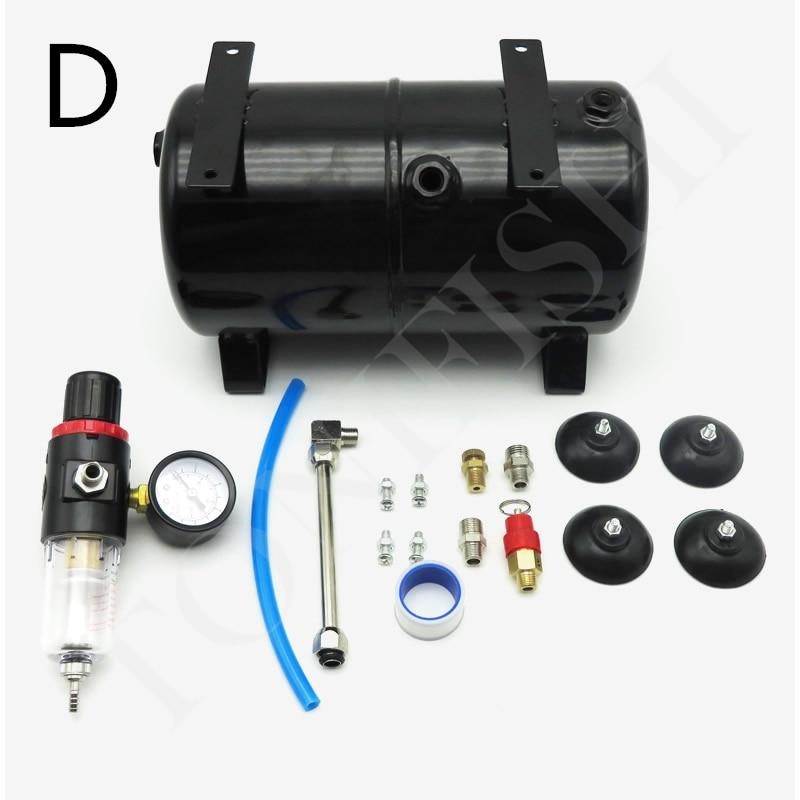 Image 4 - AS18B AS186 Model Air Pump Air Storage Tank Air Compressor Spray Pump 3.5L 4 Holes Air TankTool Parts   -