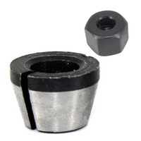 너트 조각 트리밍 기계와 6mm 6.35mm 8mm 콜릿 척 어댑터 전기 라우터 고정밀 비트