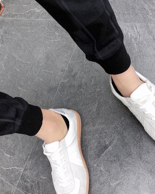 2019 Autum Mens Joggers Pants Hip Pop Casual Pencil Pant Sweatpants Trousers Streetwear Plaid Black Casual Harem Pants Plus Size 6