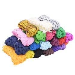 25M 5mm Width S Shape Grosgrain Ribbon Curve Wavy Ribbon for Wedding Festival Party DIY Gift Wrap Lace Trim Decor Supplies