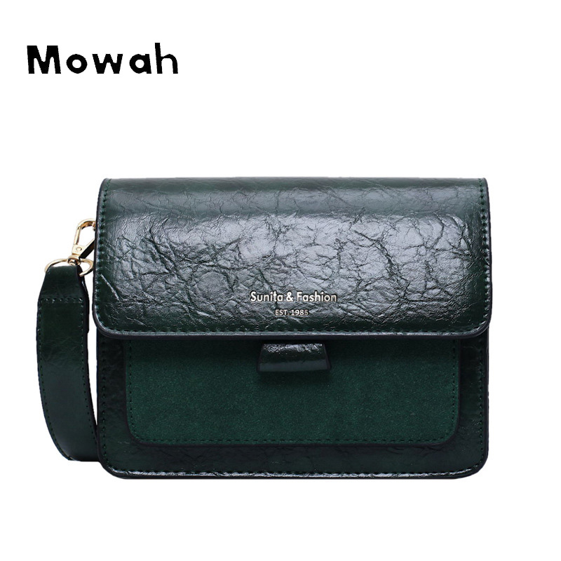 Mowah Pleated Small Women Bags Korean Style Square Shoulder Bag Autumn and Winter Vintage Crossbody Bag BIW443 PM49