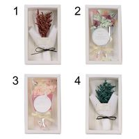 Valentine's Day Handmade Dried Flowers Bouquet Gift Boxes Home Garden Festive Party Supplies Artificial Decorations
