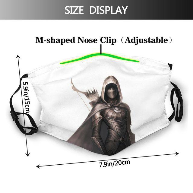 Маска для лица Skyrim -