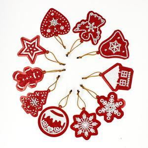 HeeBenor магазин, новинка 2019, Новое поступление, стильное Рождественское украшение, алмазная Рождественская елка, подвеска, рождественские укр...